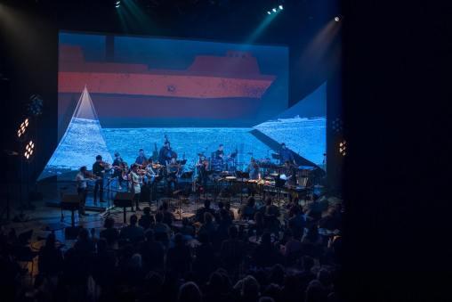 collectif9 et Architek Percussion. © Danylö Böbyk.